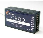2.4G 8-Chanel CORONA Mini DSSS Receiver for CT8F/CT8J DSSS RF Moules CR8D