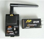 Frsky 2.4GHz Radio System Telemetry DFT+D8R Two Way Communication series