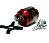 LEOPARD Model 3536 KV1270 RC Outrunner Brushless Motor & Propeller Adaptor