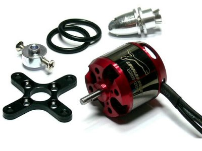 LEOPARD Model 2835 KV1038 RC Outrunner Brushless Motor & Propeller Adaptor