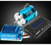 XERUN 2500KV 13.5T Sensored Motor & Blue 120A ESC & LCD Program