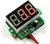 On-board LED 3-30V Battery Voltage Checker W/JR Connector DGBTVC