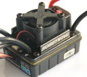 Hobbywing Ezrun 80A brushless motor waterproof ESC EZRUN-WP-80A-SL for 1/10 rc car NEW