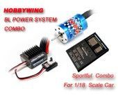 Ezrun-25A+Motor18T+Program Card Combo For 1/18 Or 1/16 Car