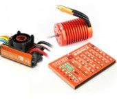 Leopard60A V2 Brushless System 12T 3300KV Combo for 1/10 Car