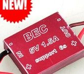 5V 1.5A BEC FOR 1.2G 5.8G Wireless Audio Video
