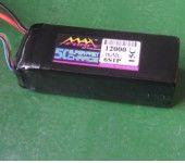 MAXFORCE 12000mAh 22.2V 15C Battery For RC Multicopter