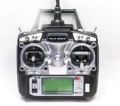 Flysky FS-T6-RB6 FS 2.4GHz RC Helicopter Transmitter 6CH 6 Channel Radio