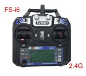FS i6 2.4G 6ch Transmitter and Receiver System LCD screen for helicopter