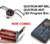 QUICRUN-WP-8BL150 And Motor 4074 2000kv Combo For 1/8 car