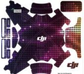 Waterproof sticker / colorful neon use for DJI Phantom3