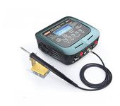 SkyRC D200 AC/DC Dual Balance Charger Discharger With Soldering Iron