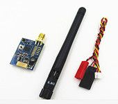 FX799T 5.8G 200mW 40CH Audio Video AV Transmitter Tx for FPV Multicopter