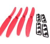 Gemfan Red 5X3 5030 CCW Counter Clockwise Quadcopter Props Propellers