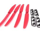 Gemfan Red 5X3 5030 CW  Clockwise Quadcopter Props Propellers