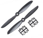 6045 6*4.5 Carbon Fiber Propeller Prop CW/CCW 1-Pair for RC Multicopters