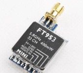 FT953 5.8G 32CH 400mW Mini Transimitter TX FPV for RC Multicopter