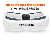 Fatshark Fat Shark Dominator HD3 HD V3 4:3 FPV Goggles Video Glasses Headset with HDMI DVR