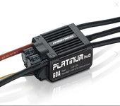 Hobbywing Platinum 60A V4 3-6S LiPo 450&450L Class Heli / .50 Class Airplane Sport
