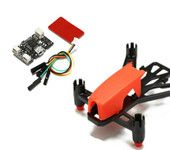 Micro Brushed Flight Control Board Base NAZE32 6DOF &Q100 100mm DIY Micro Mini FPV Brushed RC Quadcopter Frame
