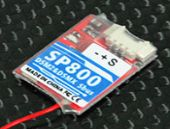 Super Mini 0.8g SP800 2.4G 8CH SBUS/CPPM Receiver Compatible with DSM2 DSMX Transmitter Module