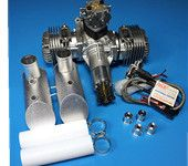 DLE Gasoline Engine DLE120 Rear Exhaust 120CC For RC Airplane 12HP/7500RPM