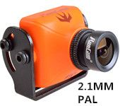 RunCam Swift2 600TVL PAL  FPV Camera Integrated OSD 2.1mm Lens DC 5-36V Support Audio