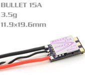 Emax Bullet Series 15A 2-4S BLHELI_S ESC Support Onshot42 Multishot D-shot Ready