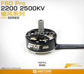 2 Pieces T-Motor F60 2207 PRO 2200KV  4S Brushless Motor For 200 210 220 250 RC Frame Kit