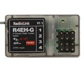 RadioLink R4EH-G 2.4G 4CH Gyro Function Receiver RX for RC3S RC4G Transmitter