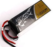Tattu/Gens Ace 10000mAh 22.2V 25C 6S Lipo Battery Pack