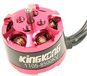 KingKong 1105 8500KV Brushless Motor for Mini T-Type Propeller