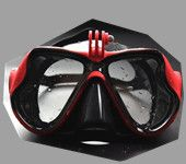 Camera Mount Diving Mask Scuba Snorkel Swimming Underwater Goggles for GoPro