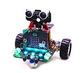 YB micro:bit smart robot car with IR and Bluetooth App (without microbit)