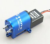 Brushless Smoke Pump Aluminium CNC Processed For RC Airplane Jet Models
