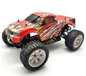 HSP 94111 1/10 Scale 2.4GHz 70KMH RC Truck 4WD Bigfoot Off-road Vehicle with RC540 Brush Motor