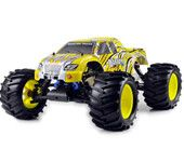 HSP 94083 Nitro 1/8 4WD Bigfoot off-road rc Truck weight version oil car