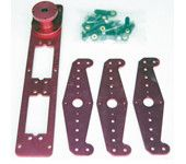 Rudder Servo Auxiliary Arm FM11-303C - Purple (for 100cc petrol airplane)
