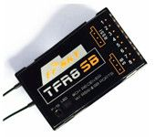 FrSky 2.4G 8-channel Futaba FASST Compatible TF Receiver W/RSSI & SB Ports