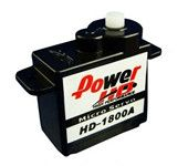 Power HD HD-1800A Plastic Gear Micro Analog Servo Motor