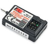 The Standard Flysky FS-GR3E 2.4Ghz 3-Channel Receiver for Rc Car Auto Boat
