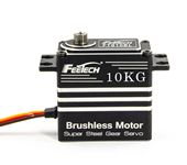 FEETECH 7.4V 10kg.cm PWM digital 180-degree Metal Case Steel Gear Brushless Servo For RC airplane RC Car