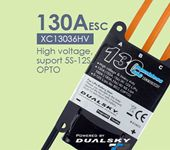 DualSky XC13036HV 130A ECS High voltage 5-12s lipo for RC Car RC Model