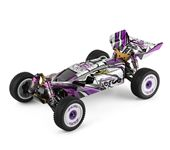 Wltoys 124019 RC Car RTR 1/12 2.4G 4WD 60km/h High Speed Metal 550 Brushed Motor Off-Road Climbing Truck Vehicles Model Models Kids Toys