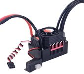 SURPASS HOBBY Waterproof Brushless ESC Speed Controller T PLUG 60A With Fan Combo For 1/10 RC Racing Car