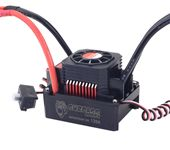 SURPASS HOBBY Waterproof Brushless ESC Speed Controller T PLUG 120A With Fan Combo For 1/8 1/10 RC Racing Car