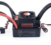 SURPASS HOBBY Waterproof Brushless ESC Speed Controller T PLUG 150A With Fan Combo For 1/8 RC Racing Car