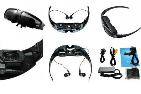 VG260 Portable Wireless Video Glasses Eyewear Mobile Theatre