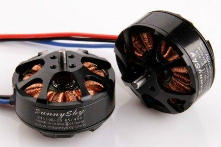SUNNYSKY X4110S 400KV Outrunner Brushless Motor for Multi-rotor