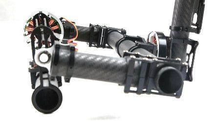 FC Carbon Fiber 3-axis Brushless Gimbal Camera Mount +  motors
